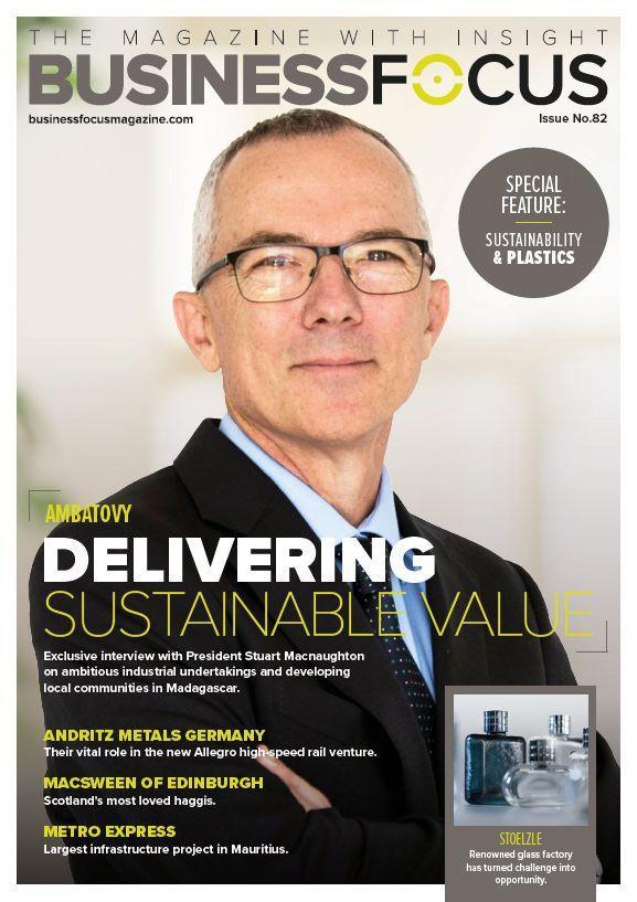 Ambatovy featured in Business Focus Magazine